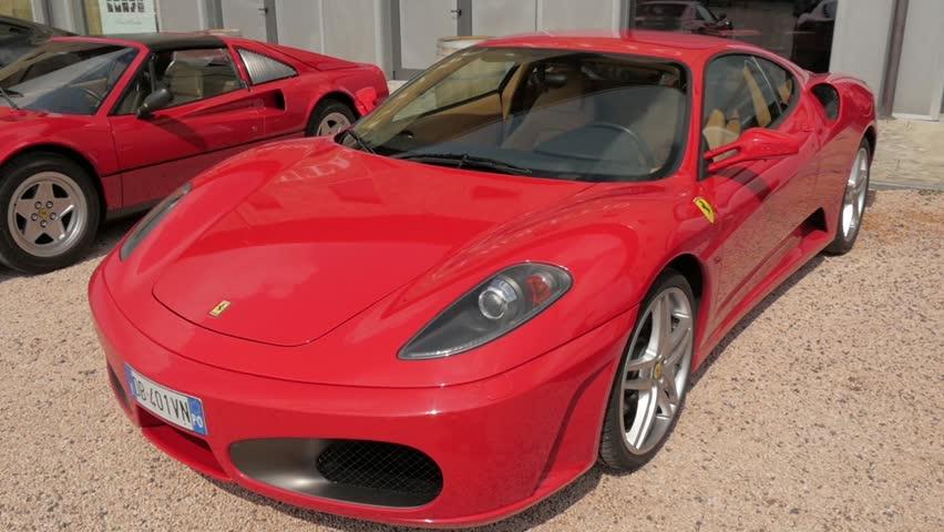 Stock Video Of Cuorgne39 Italy May 2014 Ferrari Carsferrari
