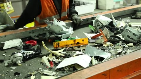 Electronic Waste Seperated