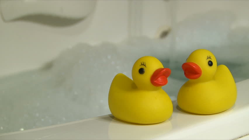 Rubber Duckies and Bubble Bath Stock Footage Video (100% Royalty-free) 652948 | Shutterstock