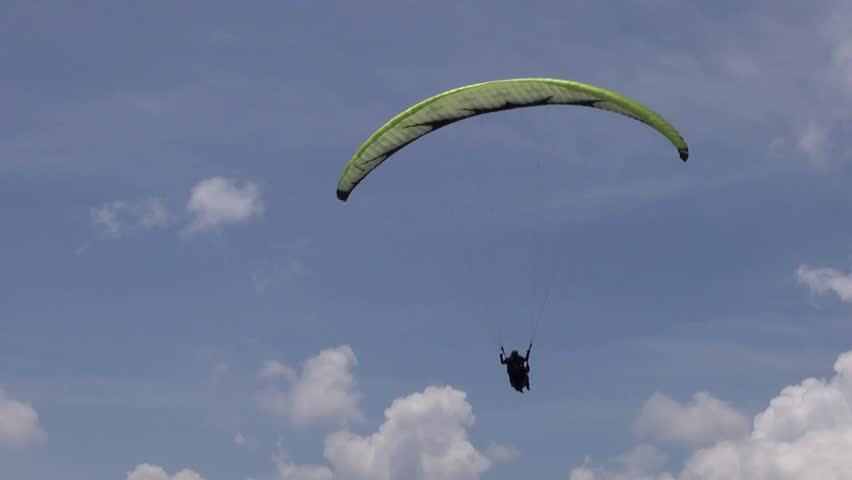 Parasailing, Paragliding, Skydiving, Flying Sports Stock Footage Video  (100% Royalty-free) 6618848   Shutterstock