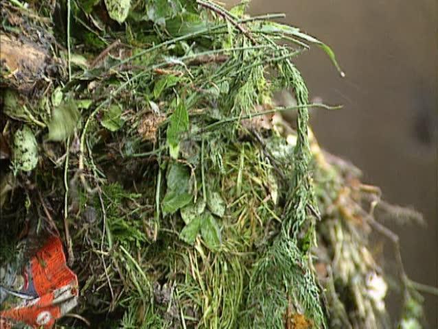 Header of biodegradable
