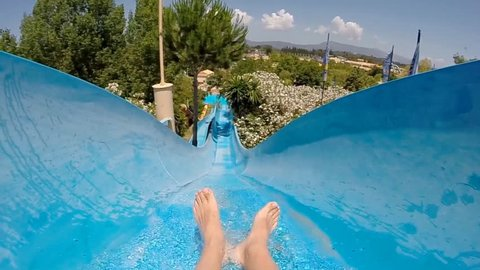 Water slide at Aqua Park