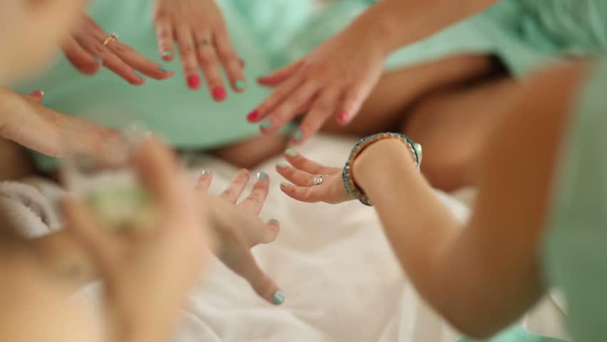 Bridesmaids Boast Manicure