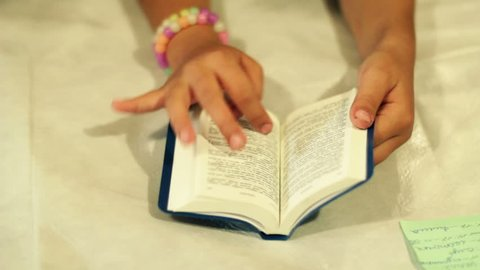 The Children Read The Bible