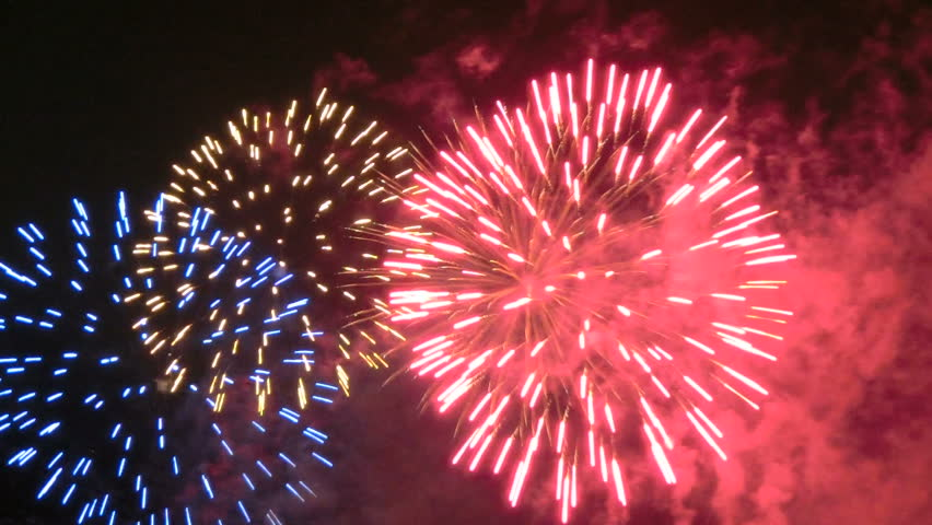Holiday Fireworks Stock Footage Video 2907871 - Shutterstock