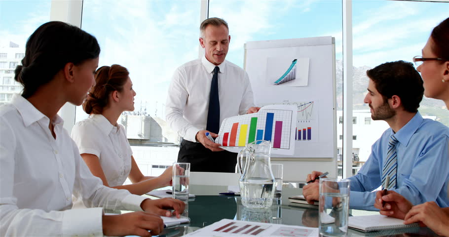 the office the meeting. Business Manager Applauding His Staff At Meeting In The Office Stock Footage Video 6874948 | Shutterstock V