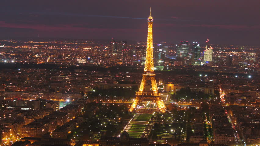paris france may 28 paris skyline and eiffel tower time lapse zoom out eiffel tower is. Black Bedroom Furniture Sets. Home Design Ideas