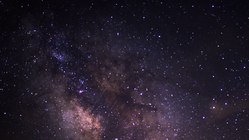 Milky Way Galaxy 98 Zoom Out Timelapse Mojave Desert Red Rock Canyon 2014 July | Shutterstock HD Video #6988474