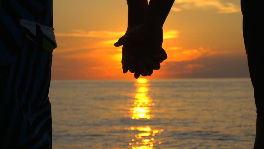 Couple In Love Holds Hands Stock Footage Video 100 Royalty Free