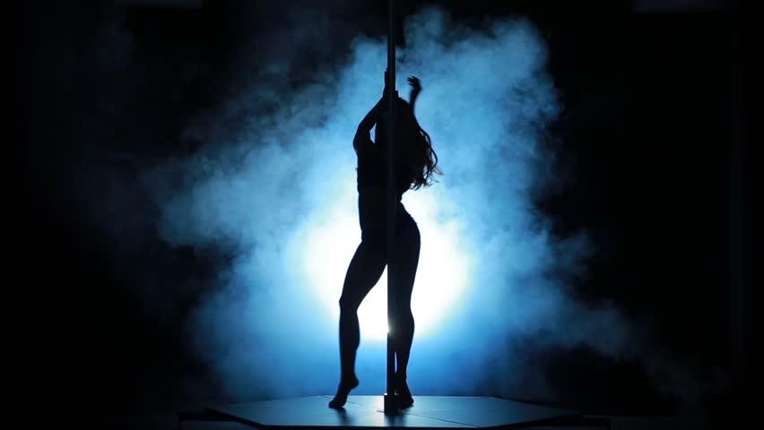 Sexy pole dancer clip