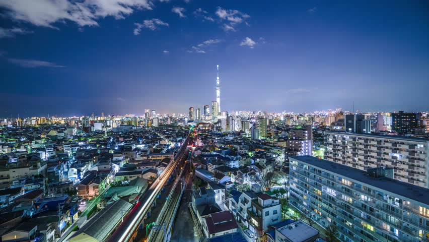 Tokyo, Japan City Skyline  Stock Footage Video (100% Royalty-free) 7040218  | Shutterstock
