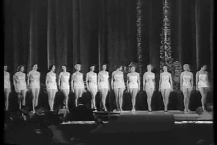 CIRCA 1950s - The 1956 Miss Universe Pageant.