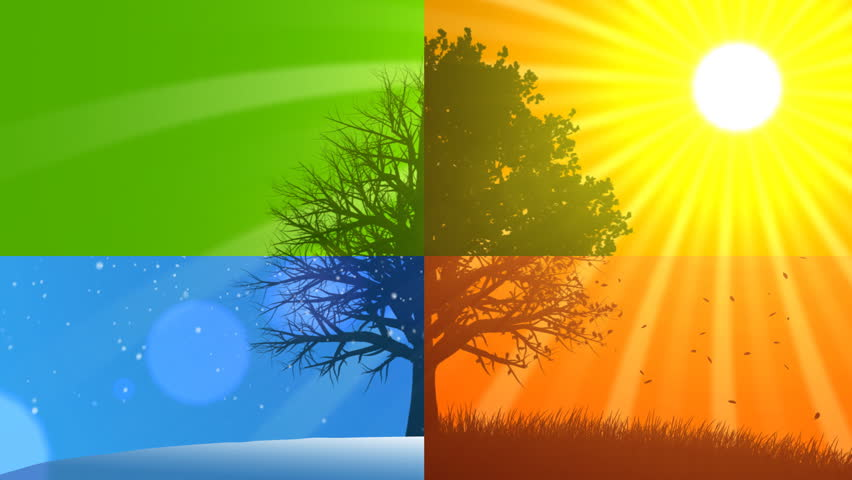 4 Seasons Composition (Animated Background)