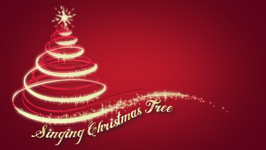 Animated Christmas Tree On Re