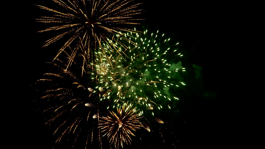 Fireworks Composition Stock Footage Video 26785207 | Shutterstock