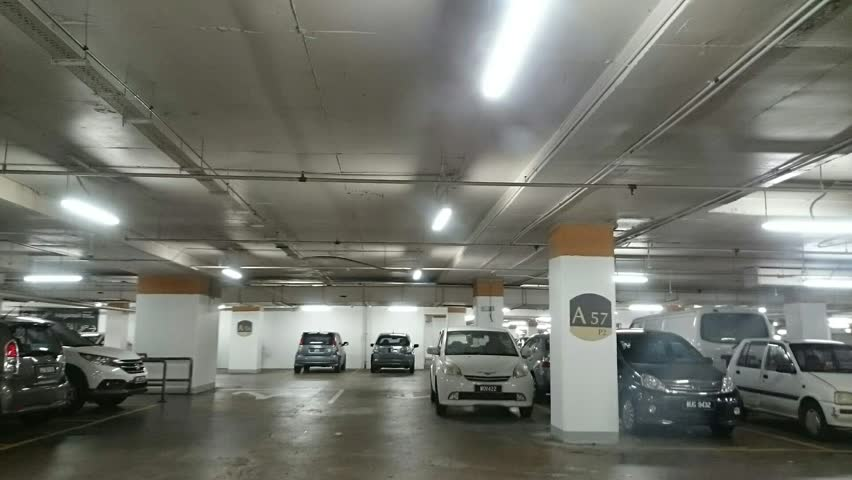 KUALA LUMPUR AUGUST 30 Motion Time Lapse View Of Journey From