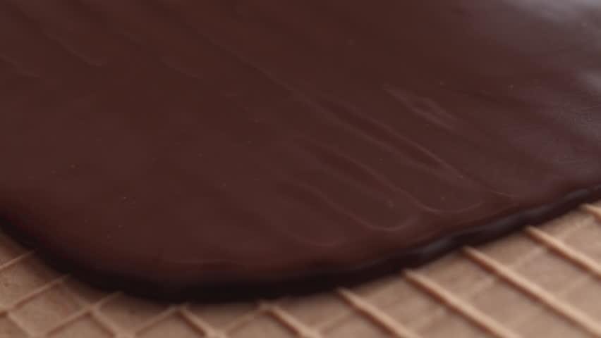 chocolate and waffles