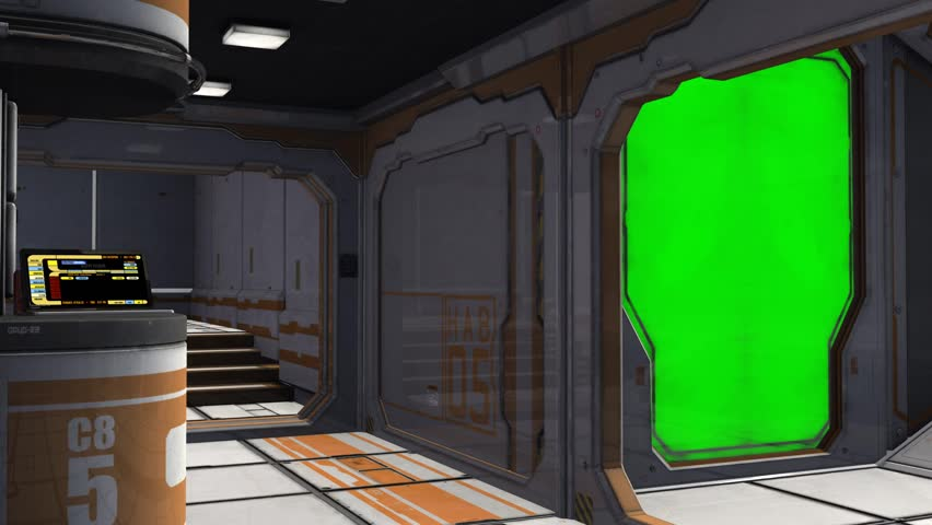 Scifi Spaceship Room   Video Background   Green Screen Stock Footage Video  7192078 | Shutterstock