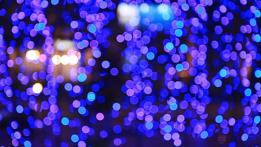 Party, bright blurry purple flashing light, blinkers, Christmas, happy new year, valentines, birthday, easter | Shutterstock HD Video #7228708