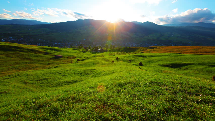 mountain landscape. 4K. FULL HD, 4096x2304. #7269988