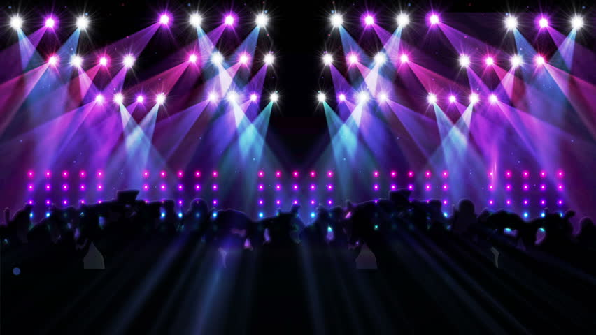 Digital Animation Of Nightclub With Stock Footage Video