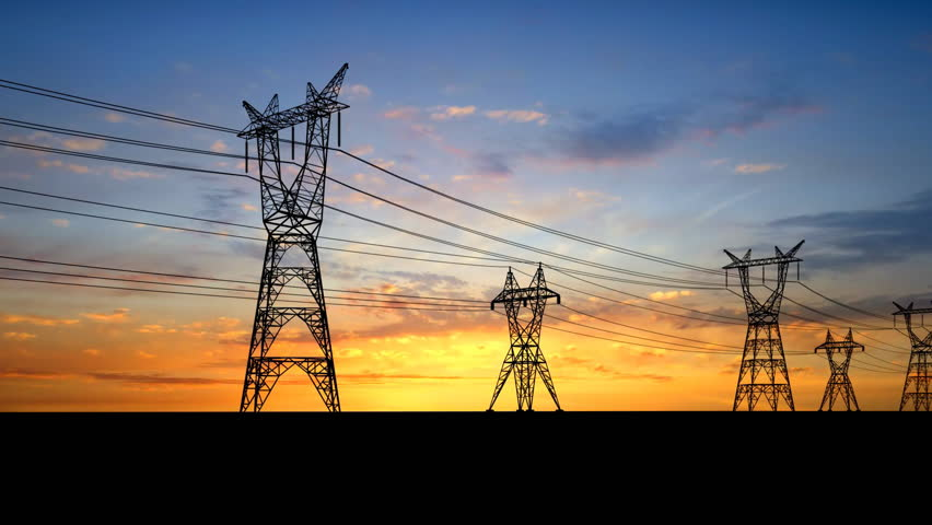 Power pylons. 1080p 25fps.