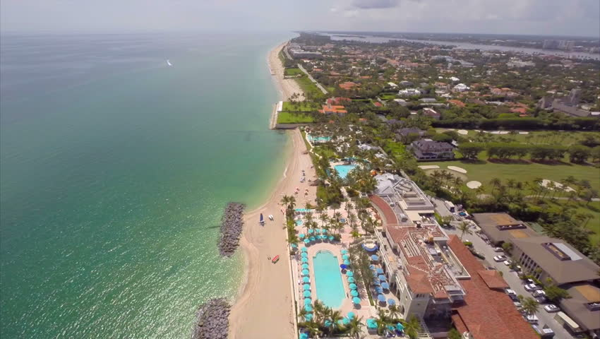 K Aerial Video Of West Palm Beach And The Breakers  Stock Footage Video  Shutterstock