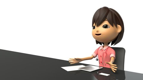 Nurse Manager Cartoon Stock Video Footage 4k And Hd Video Clips