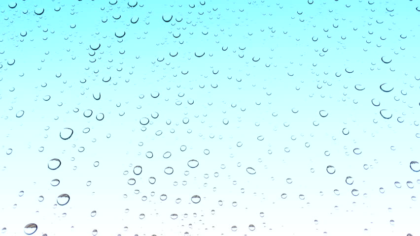Water Drops On Glass After Rain Background Stock Footage Video ...