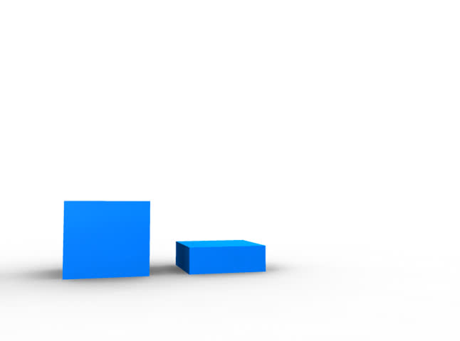 3 bargraph showing positive growth. 3d Animation. | Shutterstock HD Video #750898