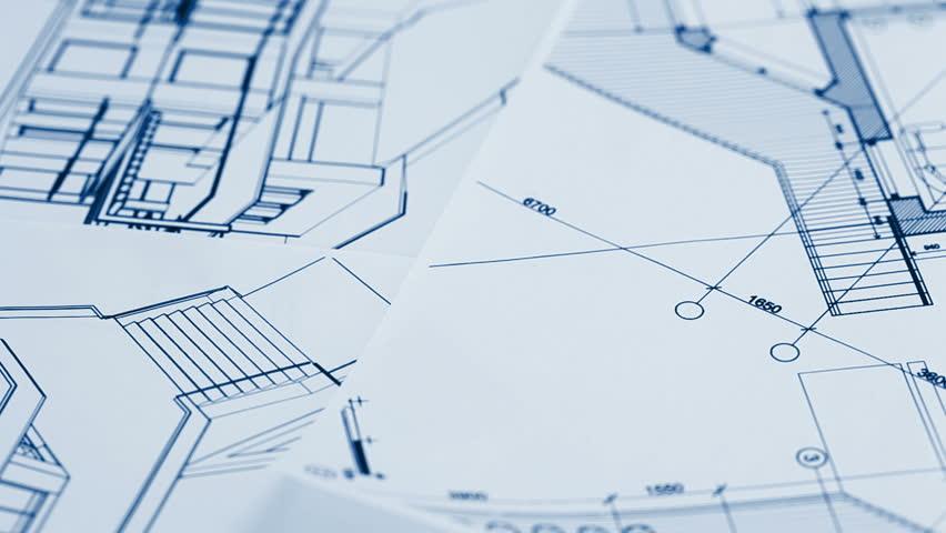 Architecture Blueprints architecture blueprint stock footage video 1227064 | shutterstock