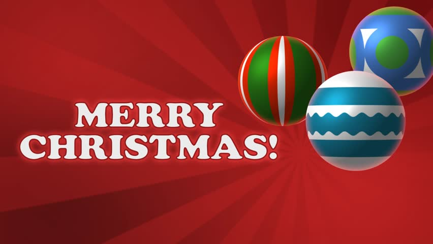 Stock Video Of Merry Christmas Festival Holiday Background With