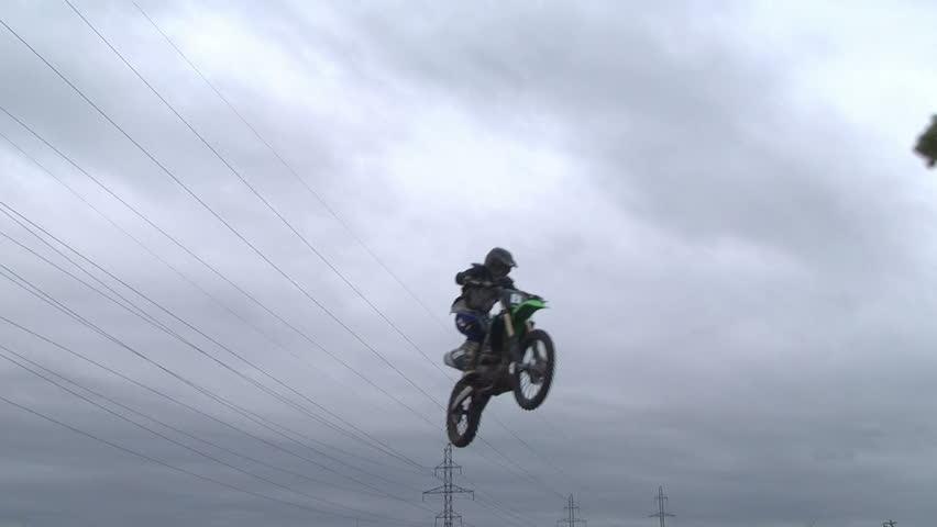 Motocross jump rider #7630018
