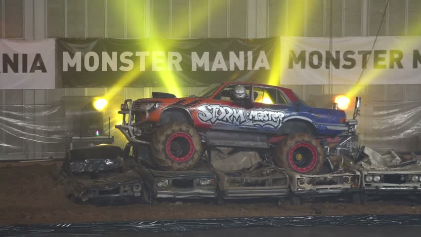 Monster Truck Stock Footage Video Shutterstock