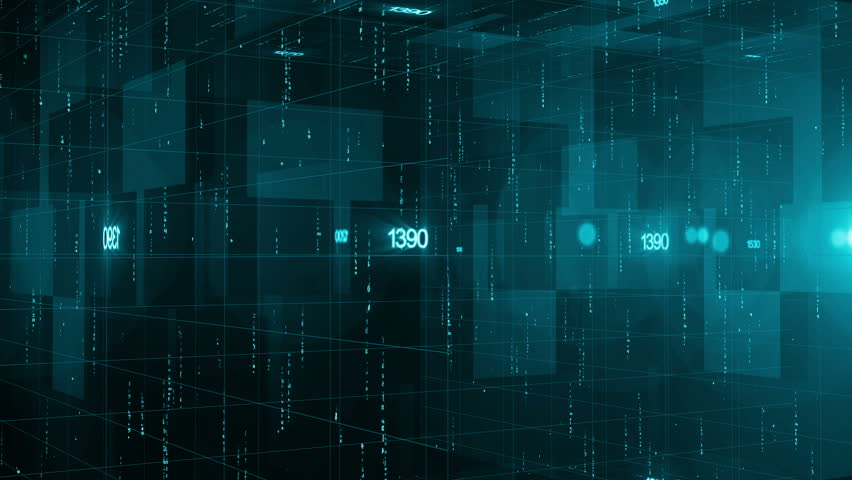 Abstract technology background for breaking news   Shutterstock HD Video #7716598