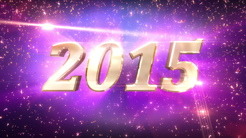 4K New Year 2015 Countdown Animation. 2015 New Year countdown animation. Best for New Year's Eve, friends party, and other event. | Shutterstock HD Video #7771408