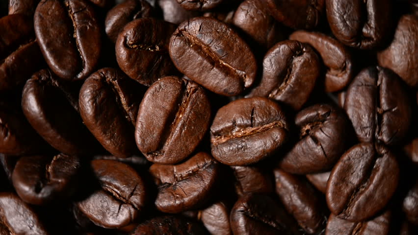 Close up shot of roasted coffee beans  | Shutterstock HD Video #7829848