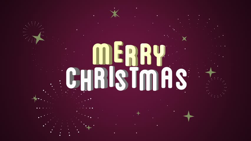 Stock video of happy birthday greeting video with all 7394443 hd0030merry christmas greeting video with all the stars and blings against a red background m4hsunfo