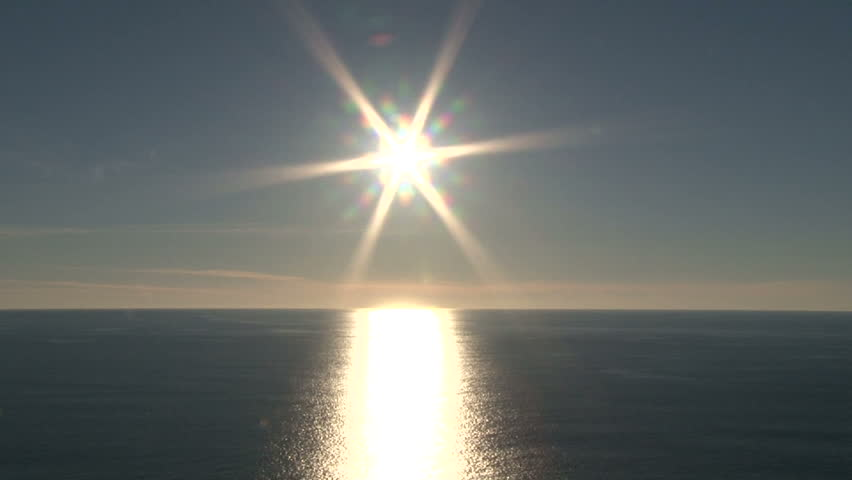 Image result for sun over the ocean