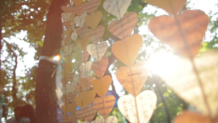 hearts decoration ,Valentine Day