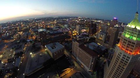 Aerial drone video San Antonio Texas
