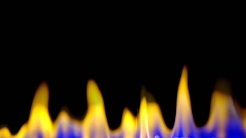 Fire burning on back background | Shutterstock HD Video #8234983