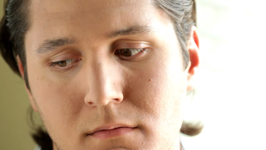 Lonely And Depressed >> Depressed Young Man Looking Out The Window Stock Footage Video 828901 - Shutterstock