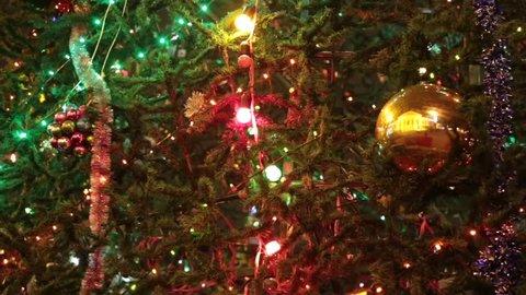 Beautiful Christmas Decoration Winter Video