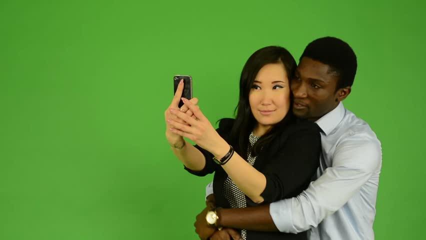 asian girl black guy