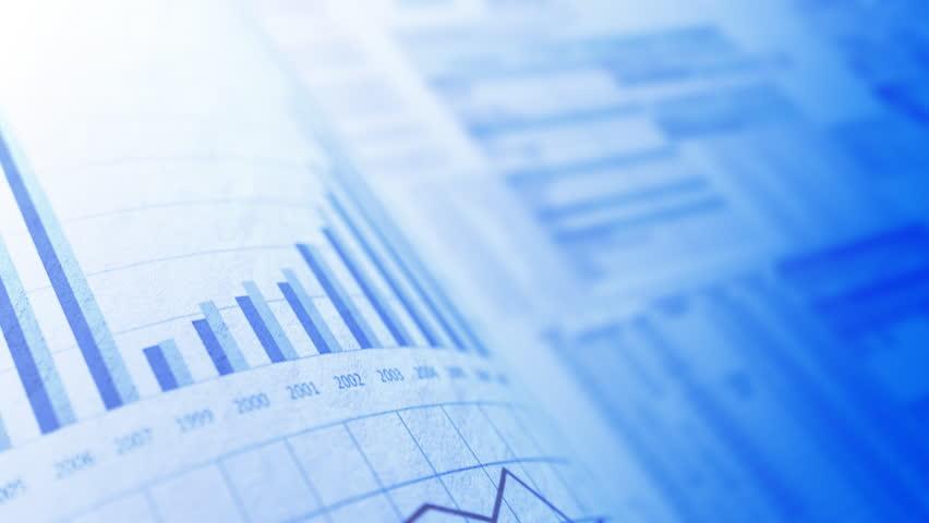 Financial chart background, LOOP | Shutterstock HD Video #845029