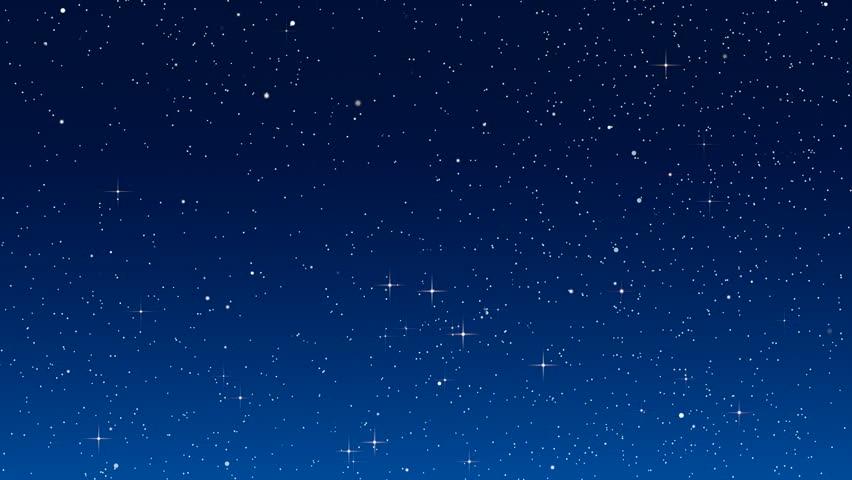 Twinkling stars in simulated night sky filmati e video d - Diva futura su sky ...