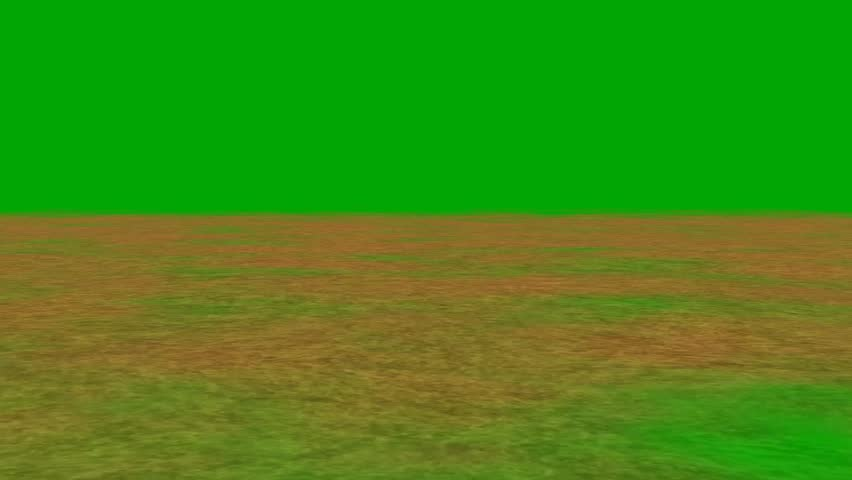 Shifting sand away from the camera - green screen  | Shutterstock HD Video #8535268