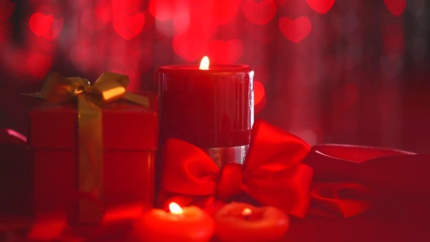 Valentines Day Beautiful Valentine Scene Stock Footage Video 100