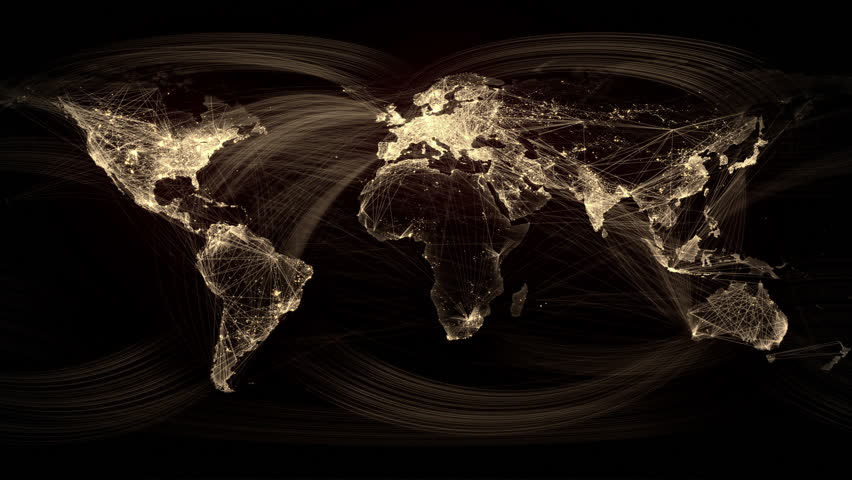 Network Lines Lighting up World Stockvideos & Filmmaterial (100 %  lizenzfrei) 8543638 | Shutterstock